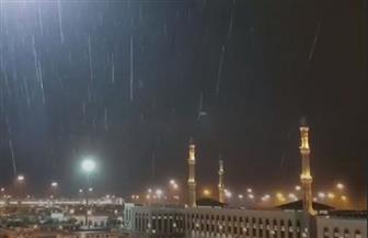 أمطار غزيرة على مكة عشية الوقوف بعرفة| فيديو