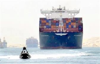 عبور 55 سفينة قناة السويس بحمولة 3.4 مليون طن رغم الطقس السيئ