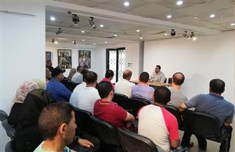 اجتماع لفرع ثقافة الدقهلية لحل مشاكل المواقع الثقافية