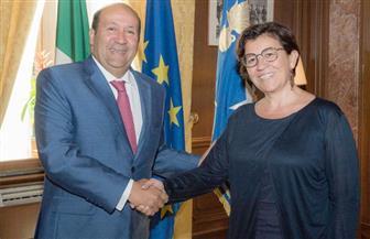 وزيرة دفاع إيطاليا: مصر شريك لا غنى عنه في منطقة المتوسط