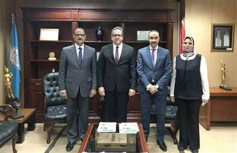 العناني يستقبل القيادات الجديدة في وزارة الآثار | صور