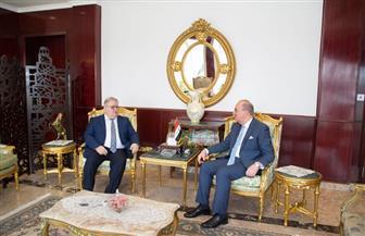 سفير العراق بالقاهرة يناقش التطورات السياسية مع ممثل الحزب الديمقراطي الكردستاني