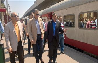وزير النقل: نقل 6 ملايين راكب عبر خطوط السكك الحديدية في 5 أيام | صور