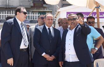 محافظ الإسكندرية يتفقد الشواطئ المجانية للتأكد من استعداداتها لاستقبال العيد   صور