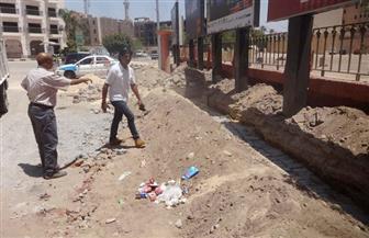 جولة تفقدية لرئيس مدينة الأقصر بأهم الشوارع السياحية | صور