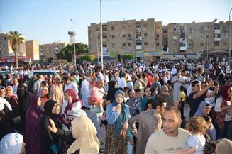 محافظ الإسماعيلية والقيادات التنفيذية يؤدون صلاة عيد الأضحى بمسجد أبو بكر الصديق