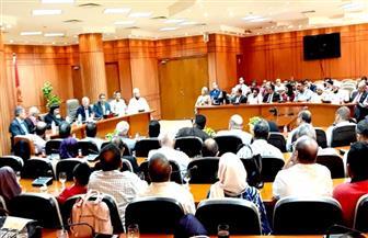 محافظ بورسعيد يستقبل وفدا من الكنيسة برئاسة الأنبا تادرس للتهنئة بعيد الأضحى