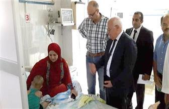 الغضبان يهنئ المرضى والعاملين بمستشفيات بورسعيد بعيد الأضحى | صور