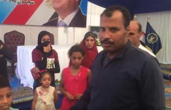 شاهد فرحة الغارم رضا سالم عقب الإفراج عنه تنفيذا لمبادرة الرئيس السيسي | فيديو