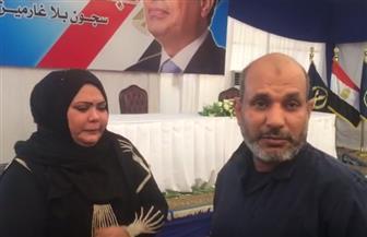 أسرة الغارم سيد بيومي تستقبله بدموع الفرح بعد الإفراج عنه ضمن مبادرة الرئيس السيسي | فيديو