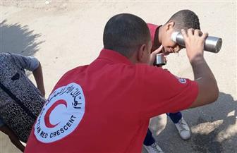 الهلال الأحمر المصري يضع خطة لتأمين احتفالات المواطنين بعيد الأضحى | صور