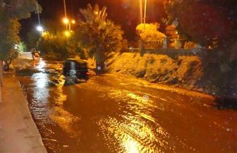 عودة مياه الشرب إلي كوم أمبو بعد انقطاع دام 12 ساعة| صور