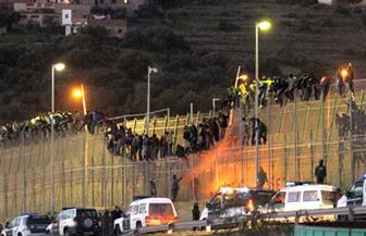 مهاجرون يغتنمون احتفالات العيد في المغرب ويقتحمون مدينة سبتة