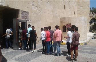 6198 زائرا لقلعة قايتباي في أول وثانى أيام عيد الأضحى