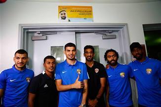لاعبو العين والوحدة في زيارة لمستشفى سرطان الأطفال قبل السوبر الإماراتي|صور