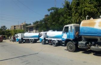 مياه شرب الفيوم : انتهاء أعمال إصلاحات خط المياه الرئيسي 800 مم بطامية