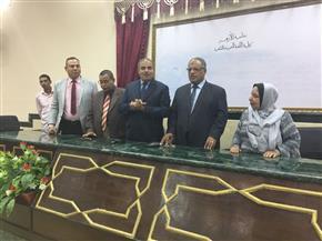 رئيس جامعة الأزهر يفتتح الدورة التدريبية لمعلمي المعاهد بكلية اللغة العربية بالقاهرة |صور