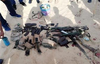 قوات الشرطة تحبط هجوما على كمين بالعريش وتقتل أربعة إرهابيين| صور