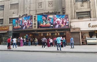 """بعد """"زحام"""" العيد.. دور السينما """"بدون جمهور"""" في وسط البلد"""