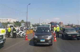 حملات مرورية على الطرق السريعة للكشف عن متعاطي المخدرات أثناء القيادة | صور