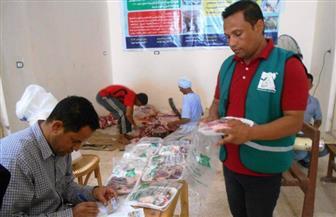 """محافظ سوهاج: توزيع لحوم 139 """"عجلا"""" و22 طنًا مجمدة على الفقراء أيام العيد"""