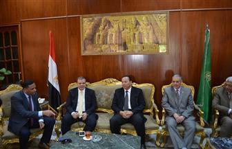 سعفان: لجنة عاجلة لتحديد متطلبات جامعة المنوفية لتطبيق اشتراطات السلامة والصحة المهنية