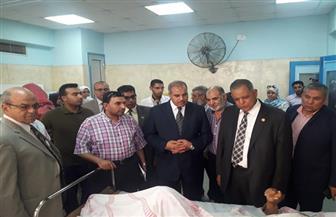 المحرصاوي يتفقد مستشفى جامعة الأزهر بدمياط ويشيد بما تحقق من إنجازات   صور