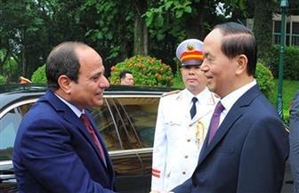 الرئيس السيسي يستقبل اليوم نظيره الفيتنامي