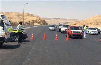 مرور سوهاج يحرر 517 مخالفة على الطرق الرئيسية والسريعة