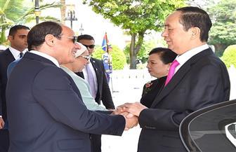 ننشر نص البيان المشترك حول زيارة رئيس فيتنام إلى مصر