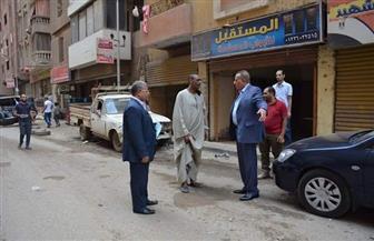 محافظ الجيزة يتفقد منطقتي الهرم وفيصل لمتابعة أعمال النظافة