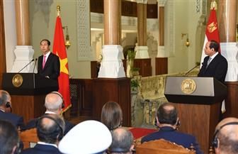 كوانج: اتفقت مع الرئيس السيسي على زيادة التبادل التجاري والدعم الدائم في المحافل الدولية