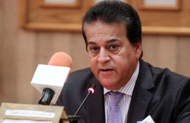 وزير التعليم العالي يطلق لوجو أسبوع الفتيات بالجامعات بوابة الأهرام