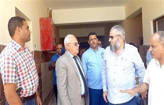 محافظ بورسعيد يتفقد أحدث مدرسة حكومية مقامة بالجهود الذاتية | صور