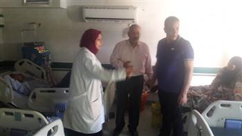 إحالة 89 طبيبا وممرضة وإداريا من قوة العاملين بمستشفى كفرالزيات العام للتحقيق| صور