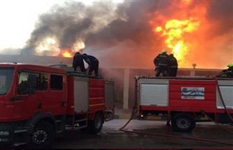 السيطرة على حريق مخزن الكاوتش بشبين الكوم دون خسائر بشرية