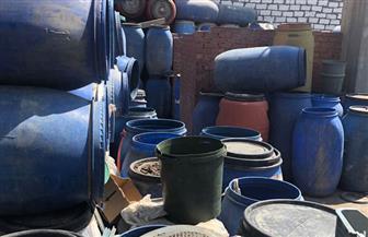 ضبط 24 طن مخللات فاسدة داخل مصنع بالإسكندرية   صور