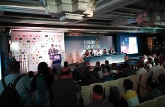 وزيرة السياحة ويسرا ومنى زكي وآل ساويرس أول الحاضرين في مؤتمر مهرجان الجونة| صور