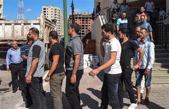 القبض على 8 أشخاص تعدوا على حملة إزالة تعديات في الإسكندرية بأسلحة بيضاء   صور