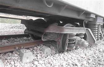 النيابة الإدارية تصدر غدا بيانا حول حادث خروج قطار عن القضبان بمحطة المرازيق