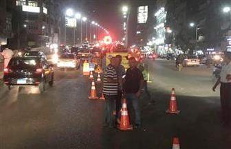 """محافظة الجيزة: غلق جزئي لتقاطع شارعي """"ربيع الجيزى ونور المصطفى"""" لنقل خطوط مياه شرب"""