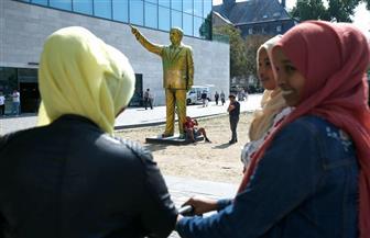 إزالة تمثال ذهبي لأردوغان من مدينة ألمانية بعدما أثار حفيظة مواطنيها