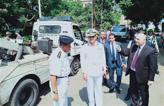 مدير أمن القاهرة يقود حملات كبرى بدائرة مصر القديمة