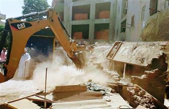 نائب محافظ القاهرة يتخذ إجراءات ضد شركة شهيرة تقوم بأعمال هدم في المعصرة