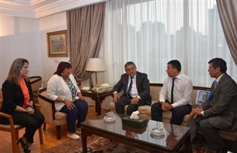 إيناس عبد الدايم تبحث تعزيز التعاون الثقافي مع أوزبكستان | صور