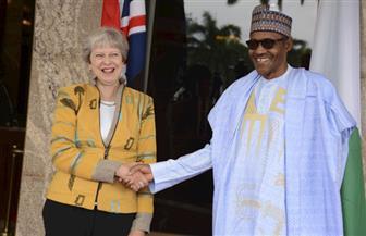 رئيسة وزراء بريطانيا تلتقي نظيرها النيجيري في أبوجا