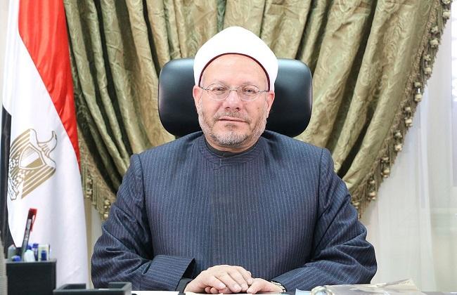 المفتي يدعو المصريين بالخارج للمساهمة الفعالة في المبادرة الرئاسية ;حياة كريمة;