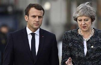 ماي تبحث مع ميركل وماكرون خروج بريطانيا من البريكست