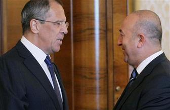 الخارجية الروسية: لافروف ونظيره التركى يبحثان العلاقات الثنائية