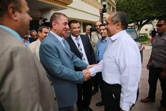 وزير الزراعة يصل كفر الشيخ لتفقد عدد من المزارع البحثية ومناقشة عدد من الملفات مع المحافظ | صور